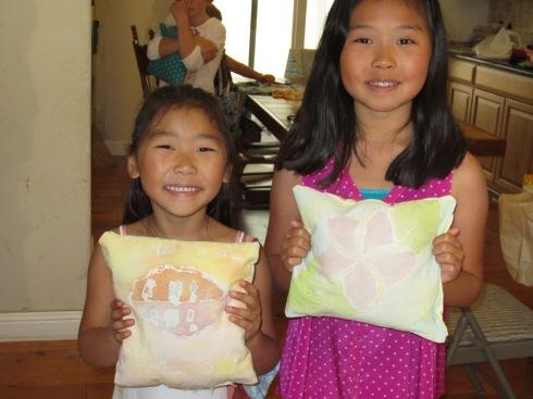 Batik pillows
