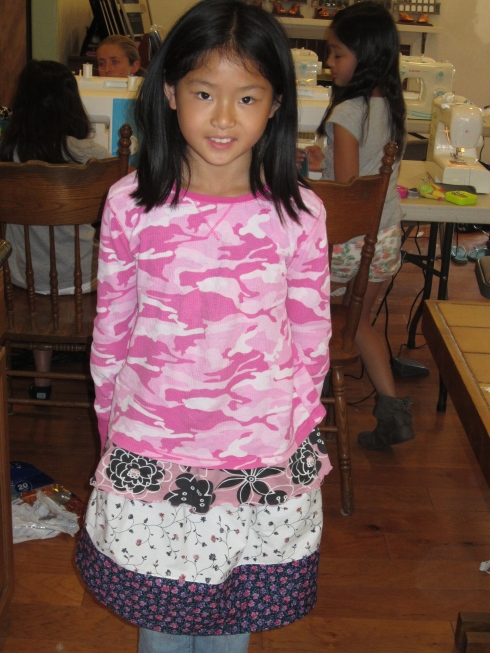 Three Tiered Skirt