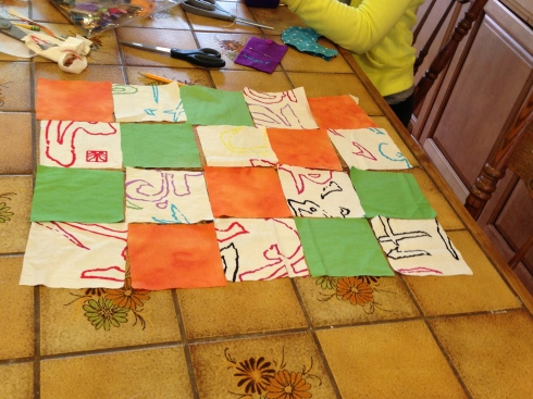 8th grade quilt project.