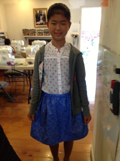 6th grade skirt.