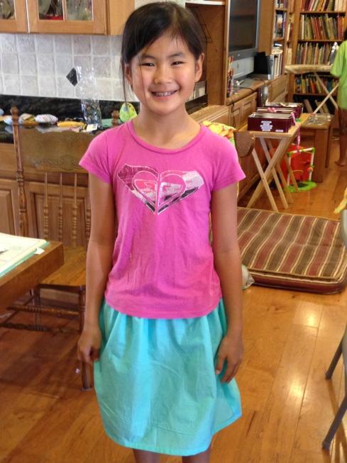 4th grade skirt.