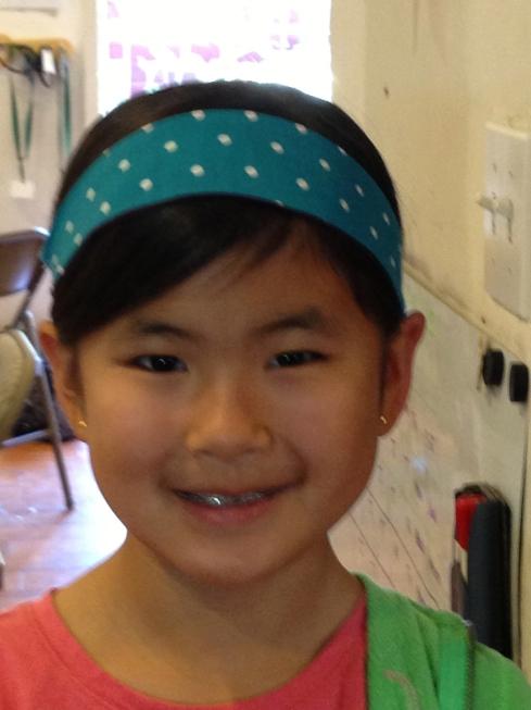 4th grade headband.