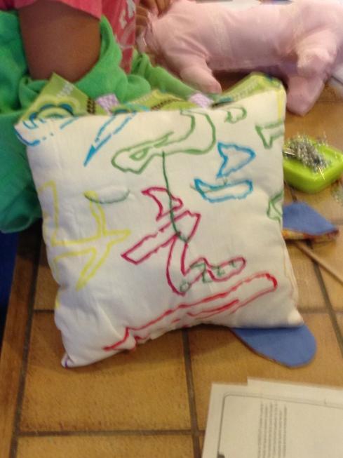 4th grade sleepy pillow.