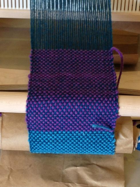 6th grade weaving.