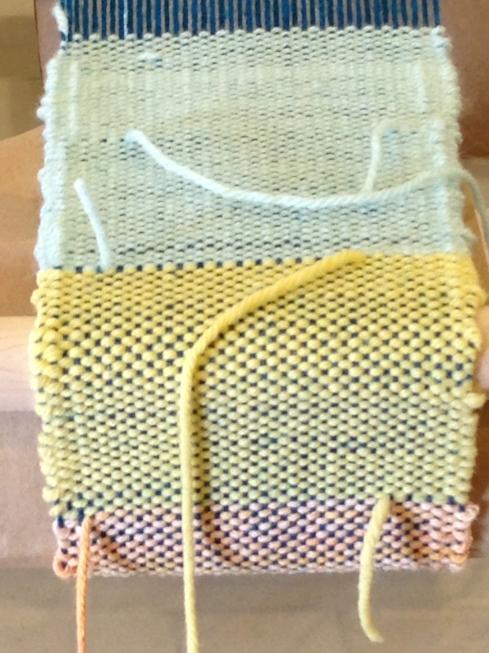5th grade weaving.