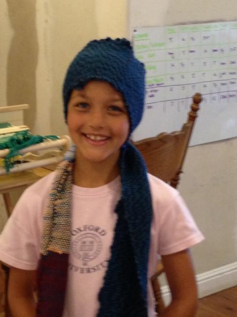 2nd grade scarf.