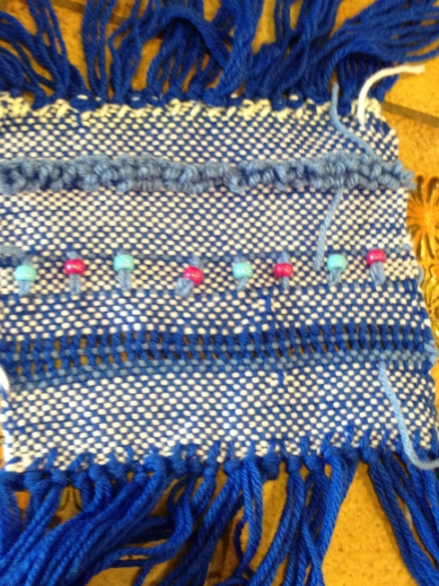 2nd grade weaving.