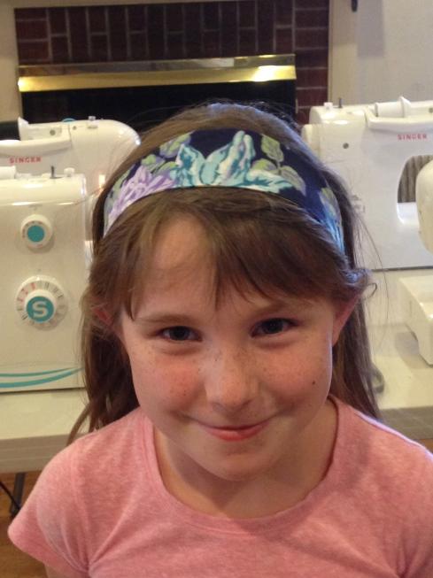 2nd grader headband.