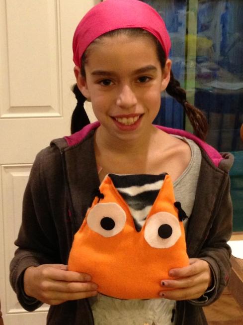 5th grade Fleece Owl