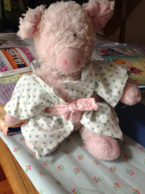 Little Piggie Robe.