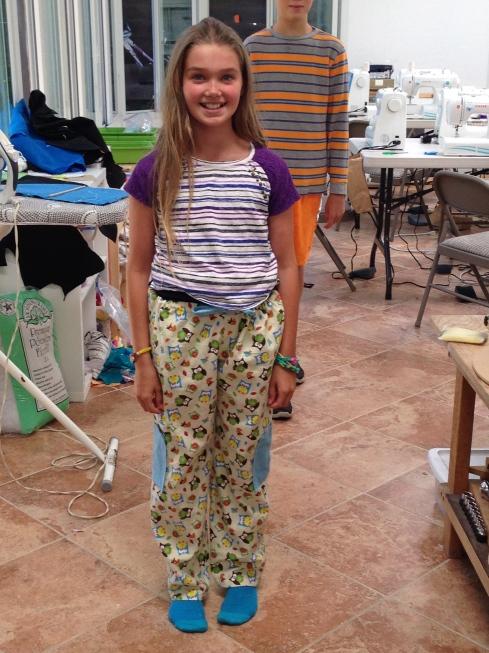 5th grader jammie pants.