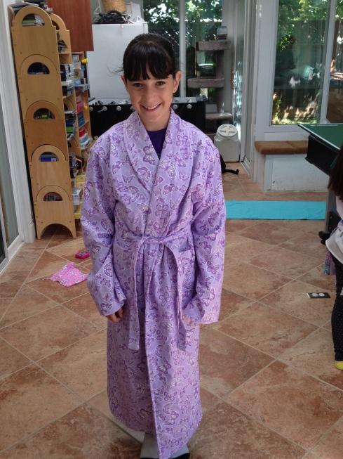 7th grader robe.