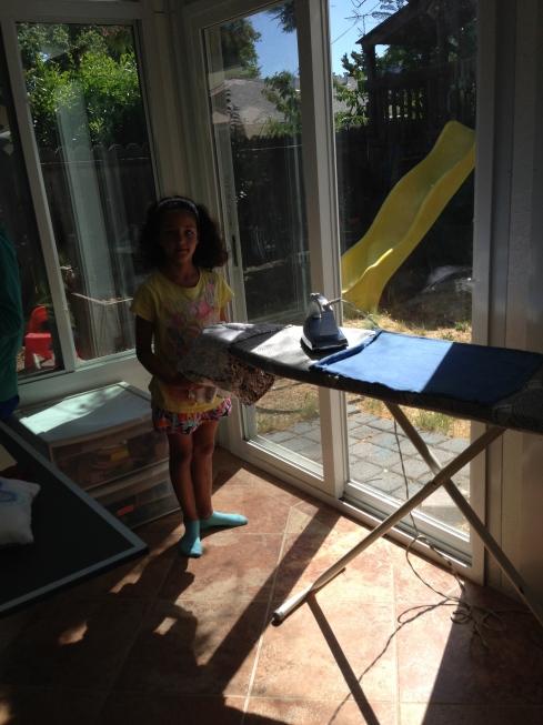 Ironing!
