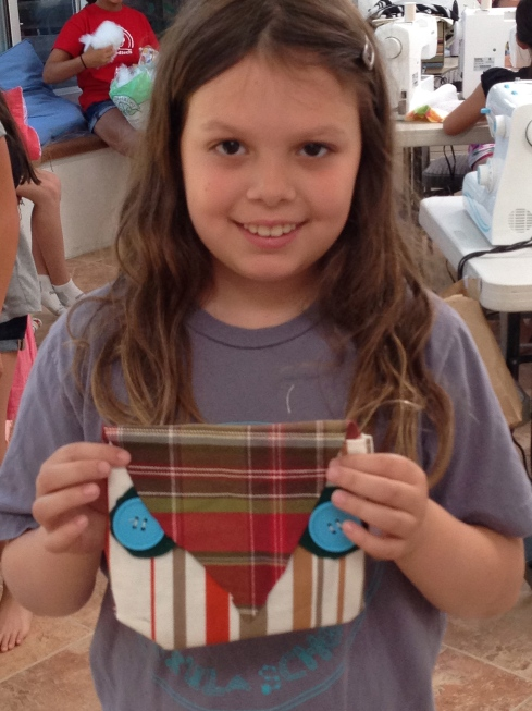 4th grader owl bag.