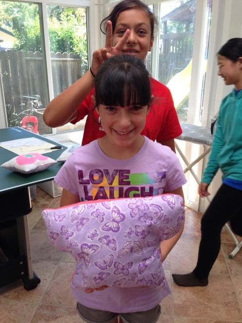 6th grader original mushroom pillow.