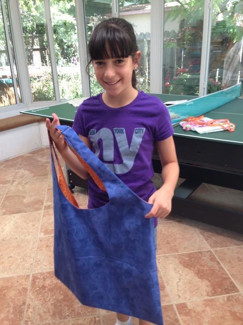 6th grader bag.