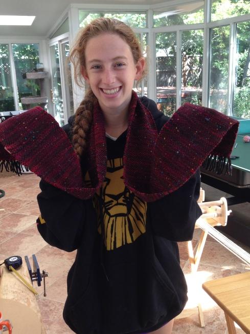 11th grader scarf.