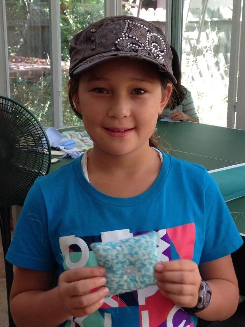 5th grader sachet.