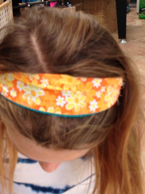 3rd grader headband.