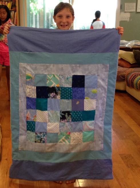 7th grader quilt.