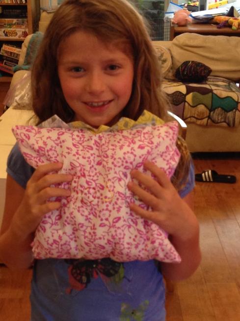 3rd grader pillow.
