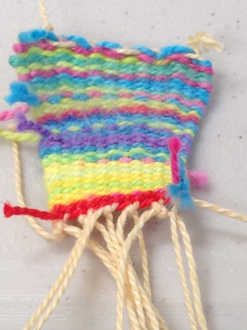 Pin Weaving.