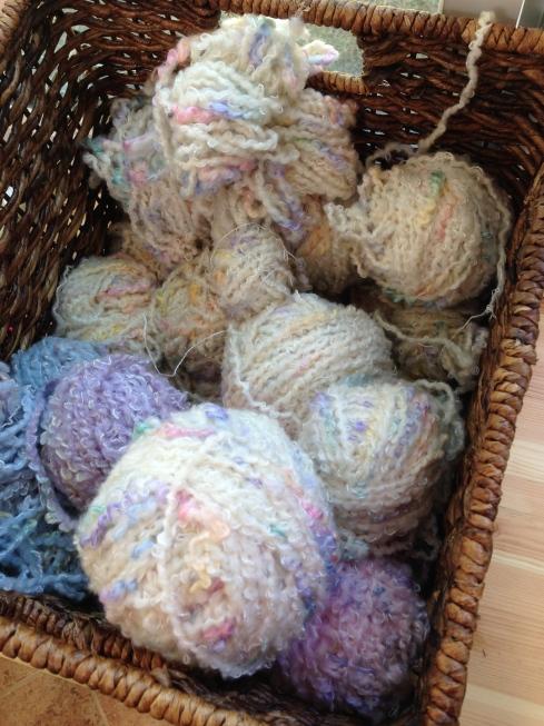 Gift yarn!  YEAH!!