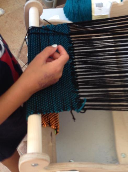 Hem stitching.