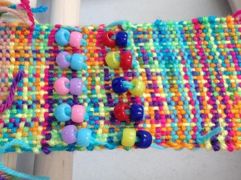 The weaving has begun.