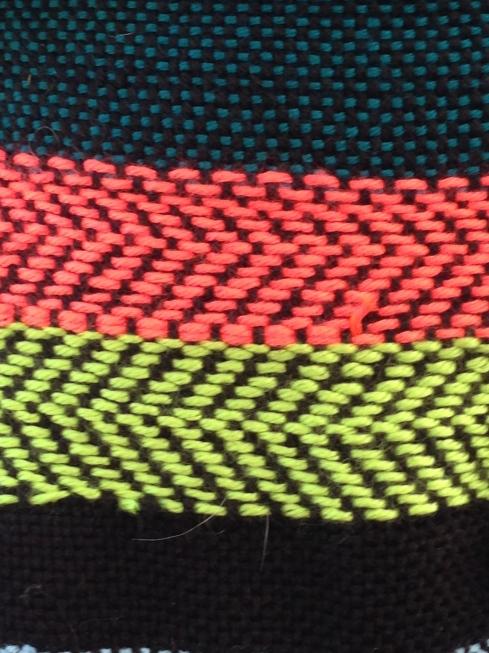 Twill on the rigid heddle loom.