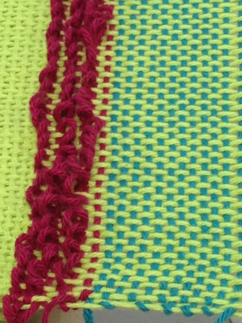 Even Weave and Pile Stitch.