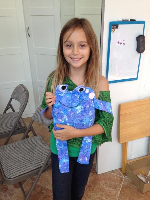 4th grader frog.