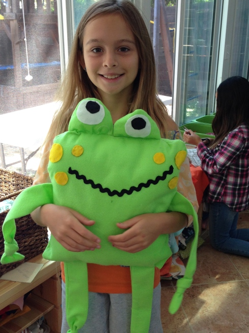 4th grader froggy.