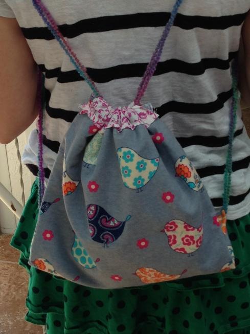 4th grader backpack.