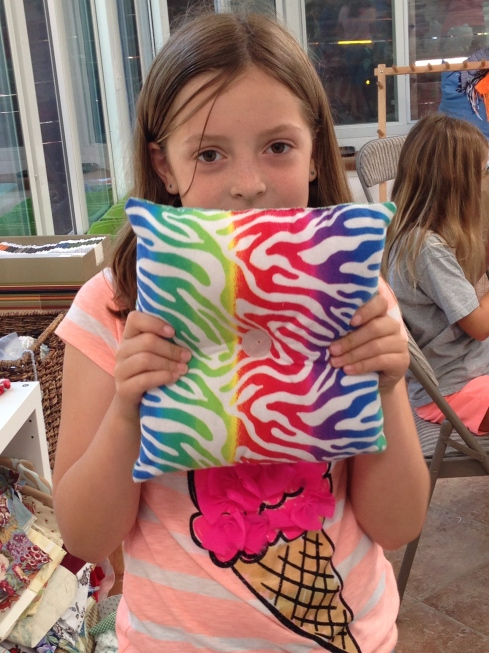 5th grader pillow.