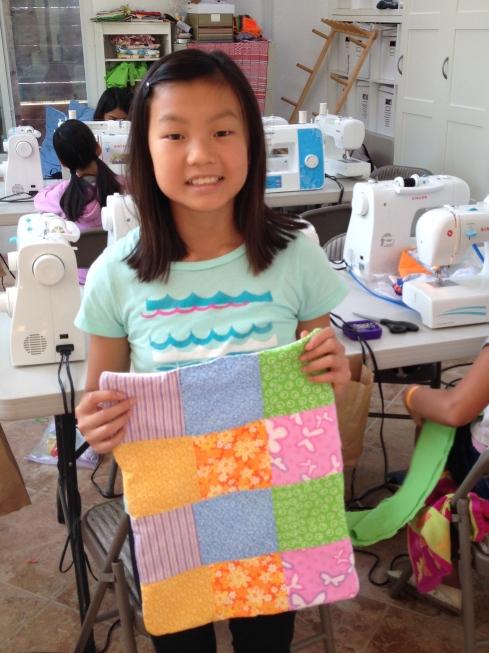 6th grader quilt.