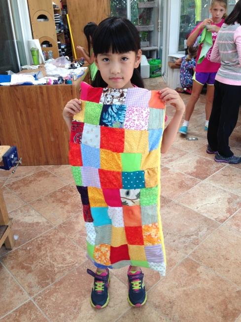 3rd grader quilt.