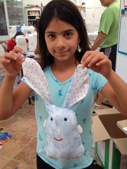 4th grader bunny.
