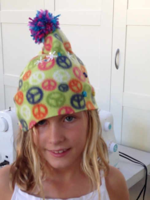 4th grader designed hat.