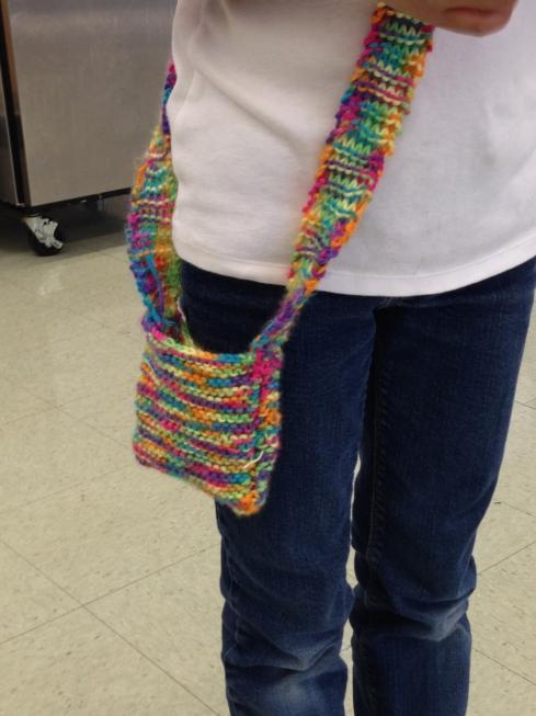 3rd grader purse.