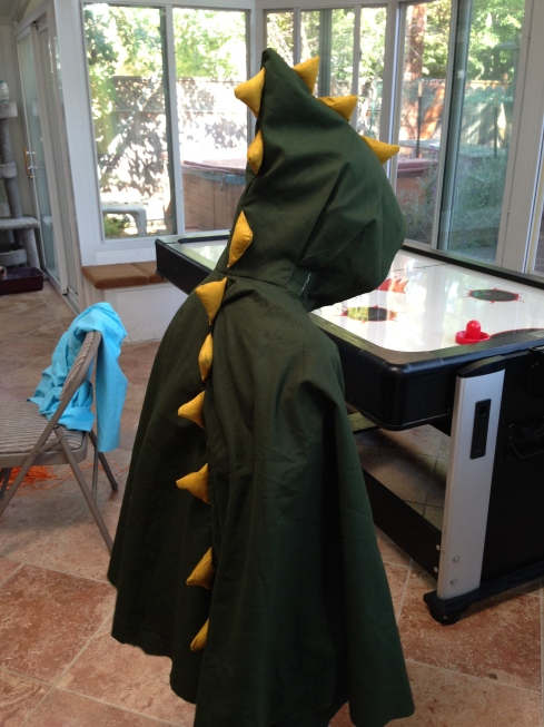 Alligator cape.