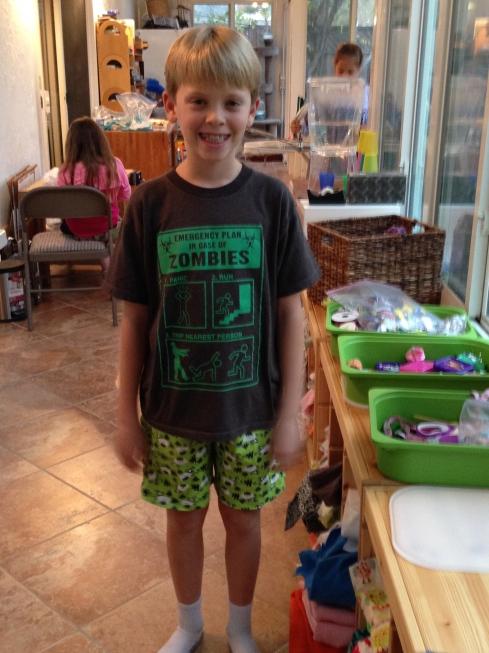 4th grader shorts.