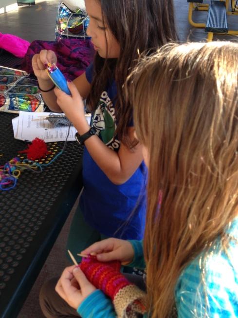 Knitting and Spool Knitting