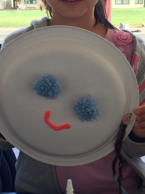 Happy face - SO CREATIVE!