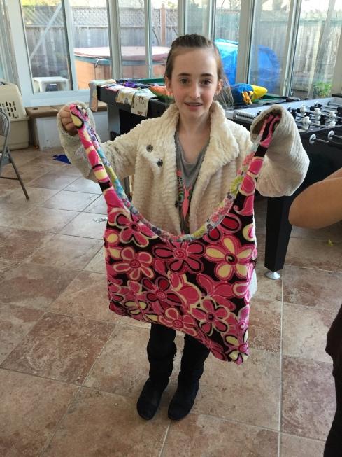 4th grader bag.