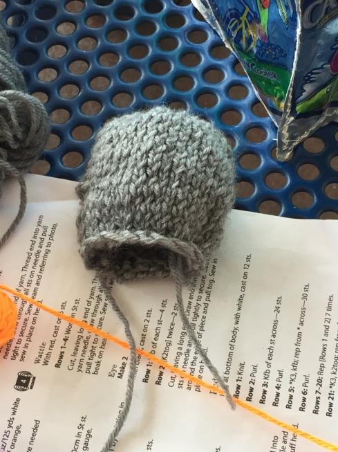 WOO HOO!!  The head is done!