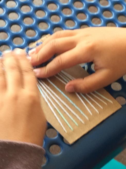 More weaving boards.