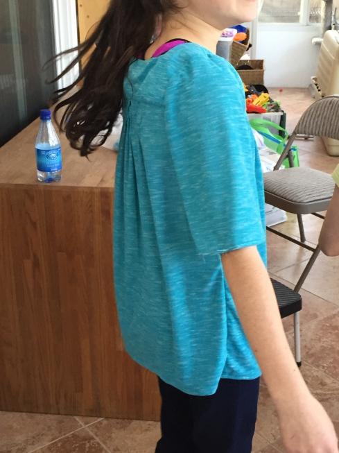 6th grader blouse back.