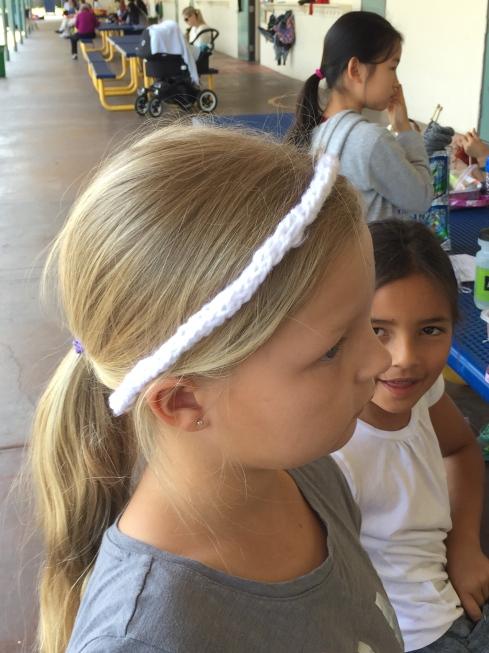 3rd grade headband.