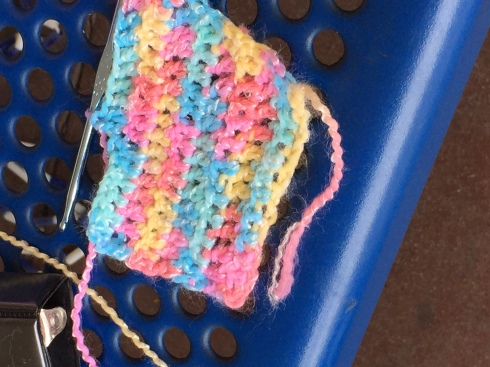 More crochet - a scarf.